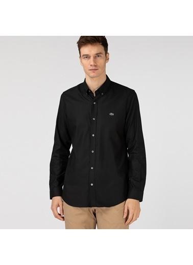 Lacoste Erkek Slim Fit Gömlek CH1843F.031 Siyah